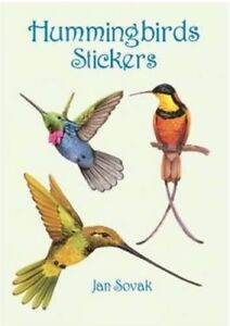 Hummingbirds-Stickers-Dover-Little-Activity-Books-Stickers-New-Books