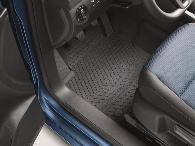 Original VW Gummifußmatten Caddy 2K1061502A 82V Gummimatte Allwettermatten vorn