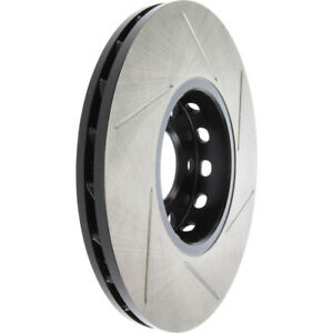 Right StopTech 126.43016SR Sport Slotted Rotor