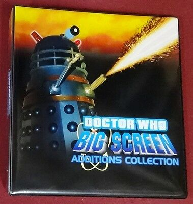 Binder Strictly Ink Dr Who Big Screen Additions 72-Card Set Promos Pages
