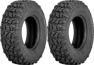 Pair-2-Sedona-Coyote-25x8-12-ATV-Tire-Set-25x8x12-25-8-12