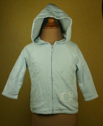 Berlingot Baby veste capuche veste garçon enfants 3m 9m 12m 18m article neuf neuf!