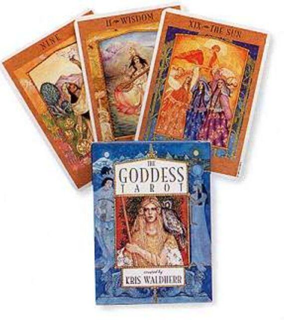 The Goddess Tarot Deck Cards Kris Waldherr Wicca Wiccan