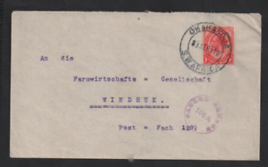 South-West-Africa-1916-KGV-WWI-Censored-cover-100A-Okahandja-to-Windhoek-WS13288