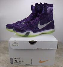item 8 Nike Kobe X 10 Elite Grand Purple Reflect Silver Volt Mens Size 10  718763-505 -Nike Kobe X 10 Elite Grand Purple Reflect Silver Volt Mens Size  10 ... fd2adc0647c