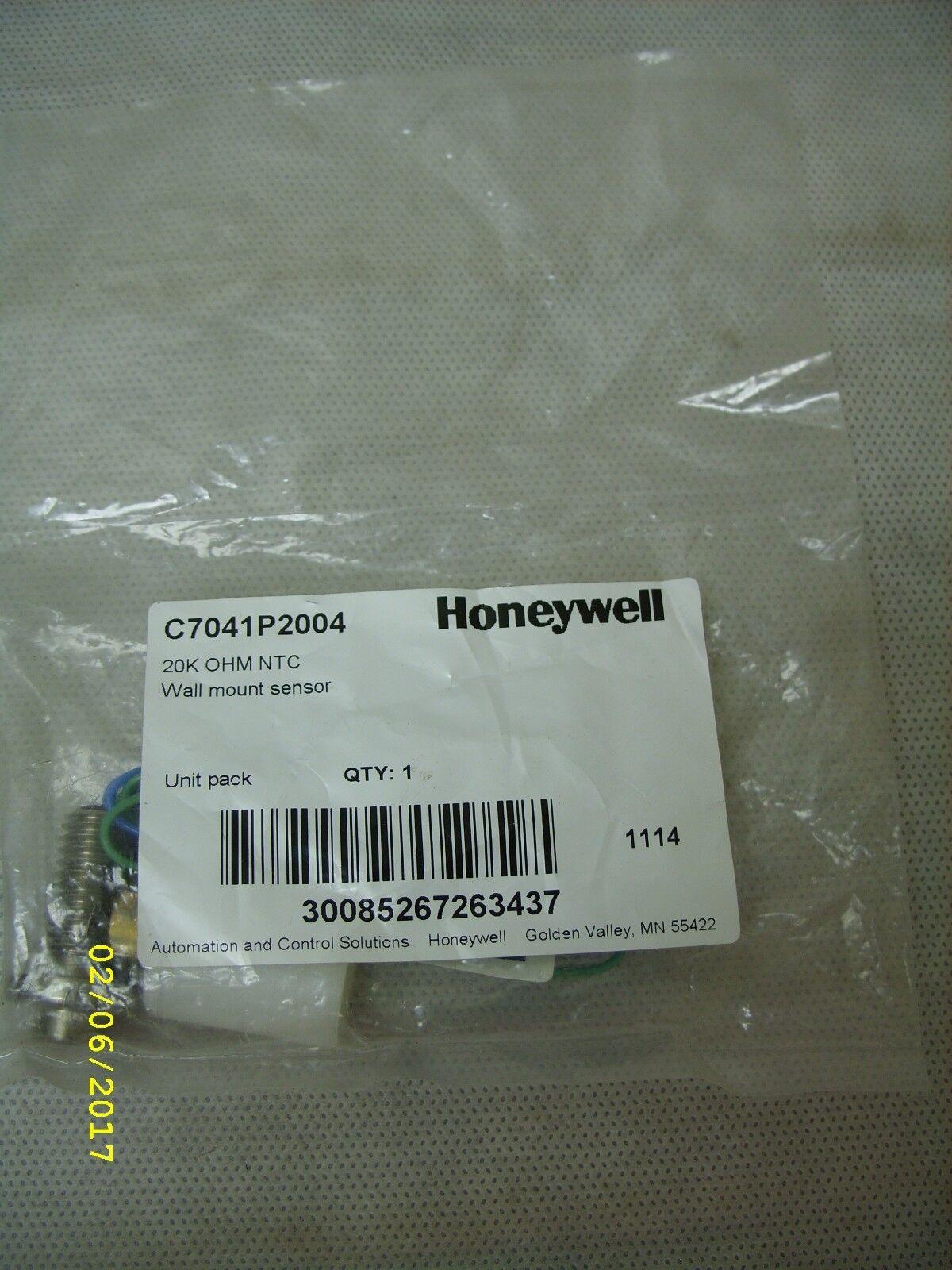 Honeywell 27.9 40.6cm Edelstahl Knopf Sensor - 20k Ohm Ntc Ntc Ntc - C7041p2004 Neu 5037b9