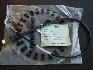 Yamaha-RD250-RD350-RD-250-350-1973-75-Throttle-Cable-Upper-360-26311-01-NOS-New