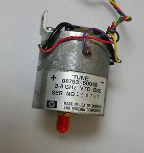 Hp-Agilent-keysight-oscilador-3-8-ghz-8720d-de-Vector-Network-Analyzer