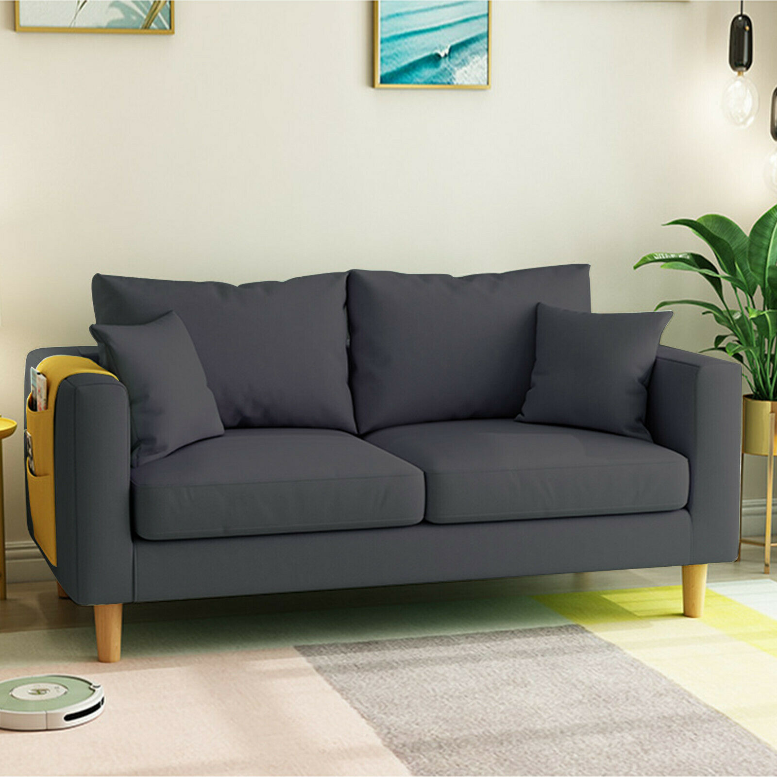 Home Office Sleeper Sofa Bed Couch Pull Out Futon Sofas Daybed Recliner Couches