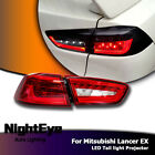 2X Car LED Tail Lights Brake Rear Lamp Turn Signal Set For Mitsubishi Lancer EX