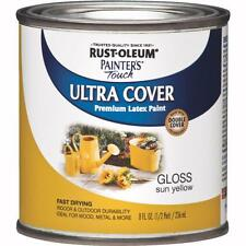 RustOleum Sun Yellow Latex Paint