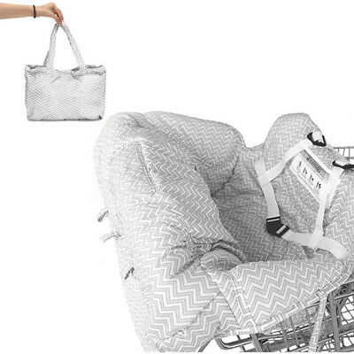 Baby Shopping Trolley Cart Cover Baby Hochstuhl Kissen Sicherheit Sitzbezug DHL