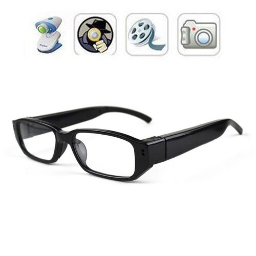 Mini Glasses HD 720P Spy Camera Hidden Covert Eyewear Cam Video Recorder DVR