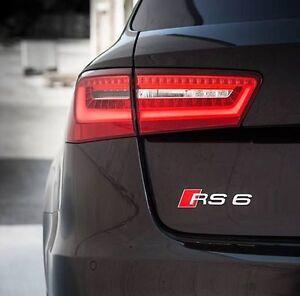 Audi-neuf-origine-A6-RS6-2002-2016-chrome-RS6-coffre-arriere-badge-embleme-4B0853740