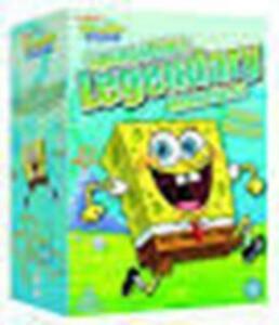 Spongebob - Leggendario Adventures 4 Disco Cofanetto DVD Nuovo DVD (PHE1590)