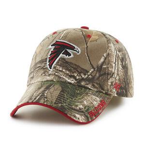 ed3a305585a6d0 Atlanta Falcons 47 Brand Clean Up Hat Adjustable Cap RealTree Frost ...