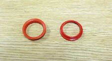 1955 1956 Chevy Red Horn Insulators Pair Usa Made