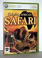 CABELA'S AFRICAN SAFARI USATO OTTIMO STATO XBOX 360 EDIZIONE ITALIANA VBC 38009