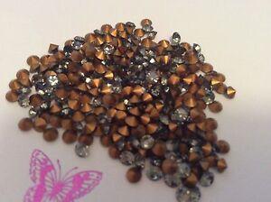 Swarovski-1012-Pedreria-1-Dorado-metalizado-Diamante-Negro-Pack-60