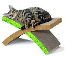 Cat Scratcher Hammock Condo Tree Tower House Furniture Kitten Pet Sisal Bed Post