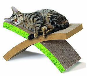Cat Scratcher Hammock Condo Tree Tower House Furniture Kitten Pet Sisal Bed Post