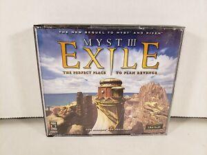 Myst III Exile Windows PC Mac Complete in Box CIB
