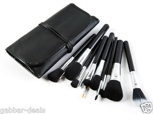 Cosmetic-Makeup-Brush-Set-15-Brushes-with-Black-Leather-Case-P