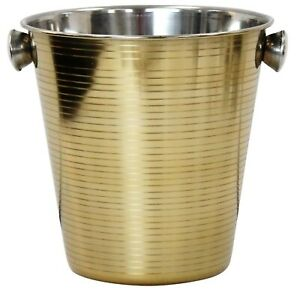 5-Litre-Gold-Champagne-Bucket-Stainless-Steel-Large-Ice-Bucket-Wine-Striped