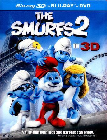 The Smurfs 2 Blu Ray Dvd 2013 3 Disc Set Includes Digital Copy Ultraviolet 3d For Sale Online Ebay