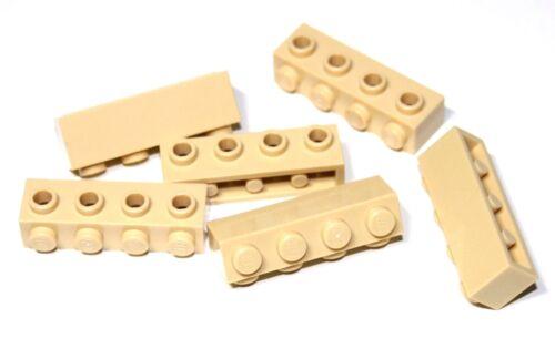 6x LEGO® Stein 1x4 mit 4 seitlichen Noppen 30414 NEU Beige Tan