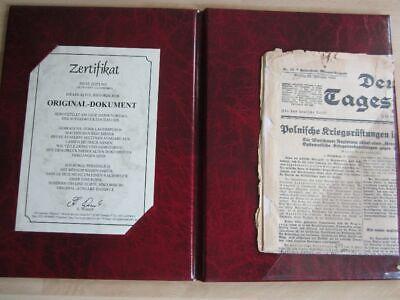 Das Historische Zeitdokument Deutsche Tageszeitung Berlin 19.02.1927 Dauerhaft Im Einsatz