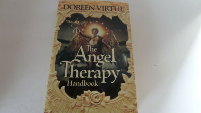 The Angel Therapy Handbook by Doreen Virtue - 2011 - Hardcover/Dust Jacket