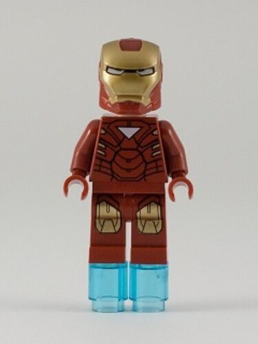 Avengers Mini Figure Iron Man with Triangle on Chest LEGO 6867