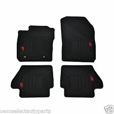 OEM NEW 14-15 Ford Fiesta ST All-Weather Vinyl Floor Mats Rubber Catch-All Black