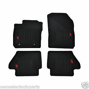 Oem New 14 15 Ford Fiesta St All Weather Vinyl Floor Mats