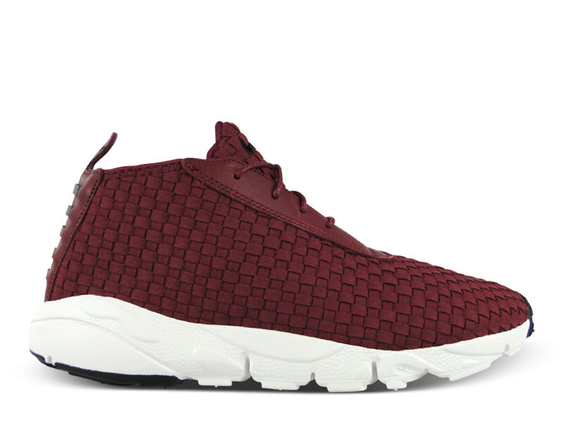2018 homme Nike Footscape Chukka SZ 11 Deep Garent Burgundy NSW QS 637162-600
