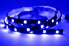 30cm 1ft 15 LED Flexible Strip Underbody Light Waterproof For Car Truck Boat 12V