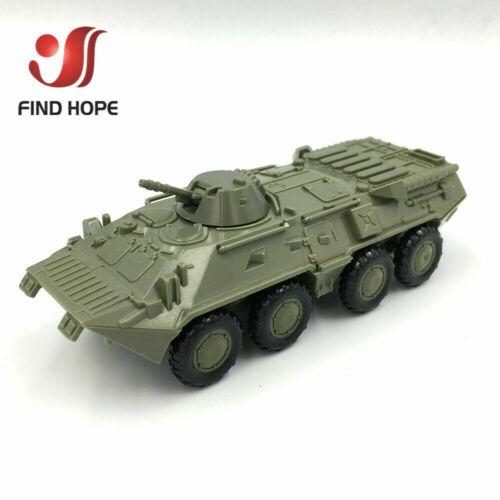 1:72 BTR-80 Armored Carrier M35 Cargo Truck Building Block Assembling Model Army