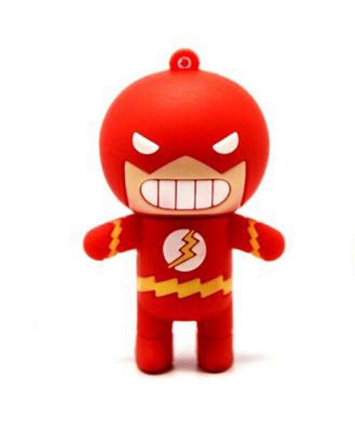 1pc 16gb The Flash Super Hero Usb Flash Thumb Drive Keychain Usa Shipper Een Grote Verscheidenheid Aan Goederen