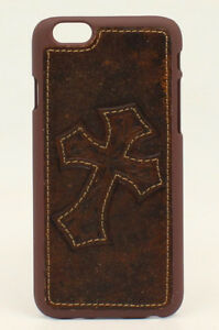 iPhone-6-or-6Plus-Cover-LEATHER-CROSS-Protective-Case-Hardback-Western-Cowboy