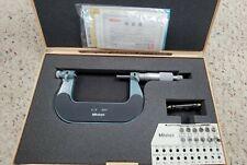 Mitutoyo126 139 Screw Thread Micrometer126 800 12 Screw Thread Anvilspindle
