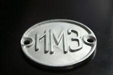 Fuel tank genuine badge mark emblem M-72 URAL IRBIT MB