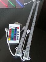 RGB Aluminium Aquarium Teichfische LED Beleuchtung  Lampe Strip Leiste Netzteil
