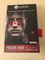 Yurbuds Focus 400..sweat Proof Sport Earphones