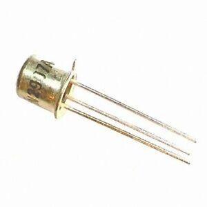 5 x 2N2907A 2N2907 PNP Transistor 60V 0.6A TO-18 FREE SHIPPING