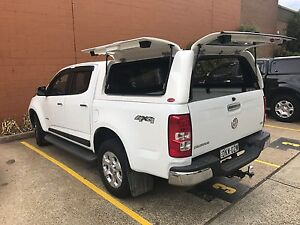 Image is loading Holden-Colorado-Dual-Cab-Ute-RG-Canopy-Trade- & Holden Colorado Dual Cab Ute RG Canopy Trade Canopy 2012 u2013 CURRENT ...