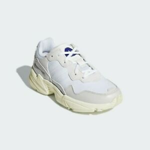 Adidas-Yung-96-J-White-Originals-Running-Shoes-Sneakers-SIZE-7-NWT-G27407