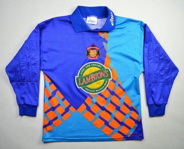 Asics 1997-99 SUNDERLAND GK LONGSLEEVE KOSZULKA S Shirt Jersey Kit