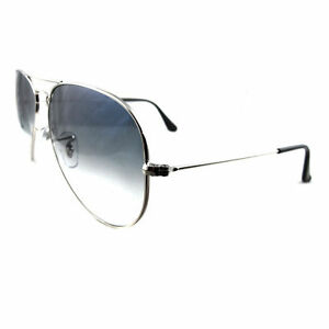 1035579fcab58 Ray-Ban RB3025 Aviator 003 3F 58mm Unisex Sunglasses - Silver for ...