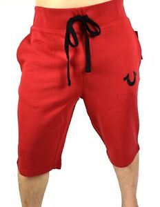True-Religion-Brand-Jeans-Men-039-s-True-Red-Active-Sweat-Shorts-102295